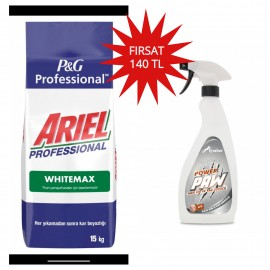 Ariel Profesyonel White Max 15 Kg+Lyniss Power Paw