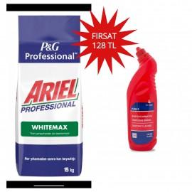 Ariel Profesyonel White Max 15 Kg+Silanss Banyo