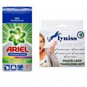 Ariel ProfesyonelRenkliler İçin Toz Deterjan (10 Kg)+Lyniss Clean Box