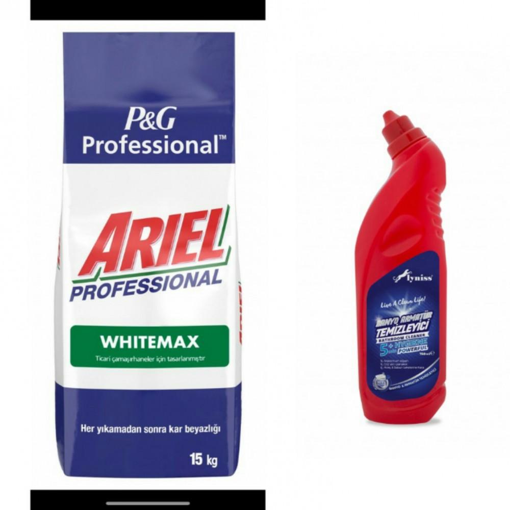 Ariel Profesyonel White Max 15 Kg+ Lyniss Banyo
