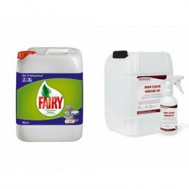 Fairy Ticari Bulaşık Makinesi Deterjanı +Grease Up